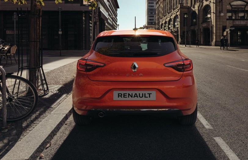Trasera Renault Clio 2019 - Renault Clio 2019: un nuevo diseño, más calidad y tecnología, y ahora también con opción híbrida