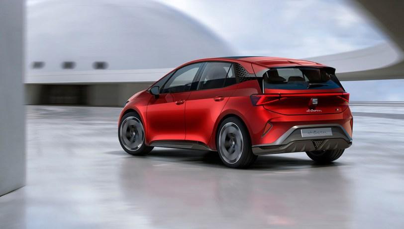 Trasera izquierda SEAT el Born - SEAT el-Born Concept con 204 CV y 420 km de autonomía. ¿Es el futuro de SEAT?