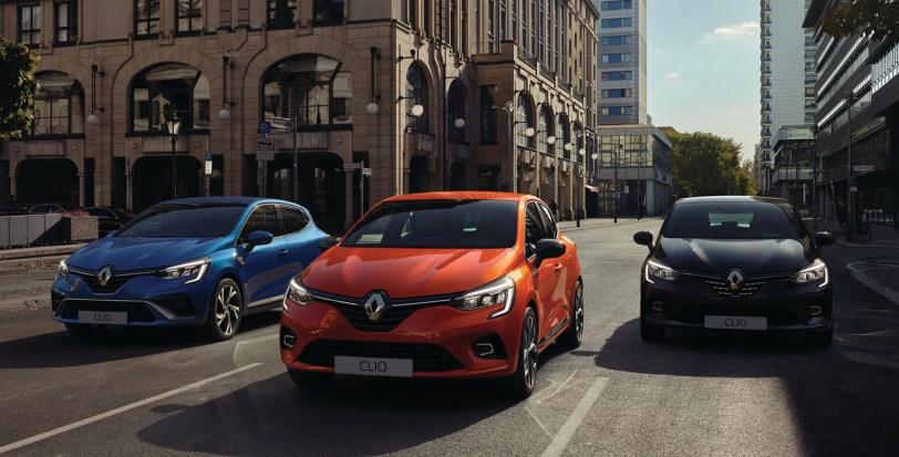 Tres renault clio 2019 - Renault Clio 2019: un nuevo diseño, más calidad y tecnología, y ahora también con opción híbrida
