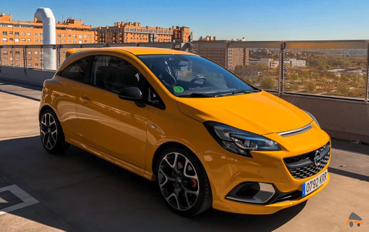 Frontal lateral derecho Opel Corsa GSI - Opel Corsa GSi: un juguete para pasarlo bien