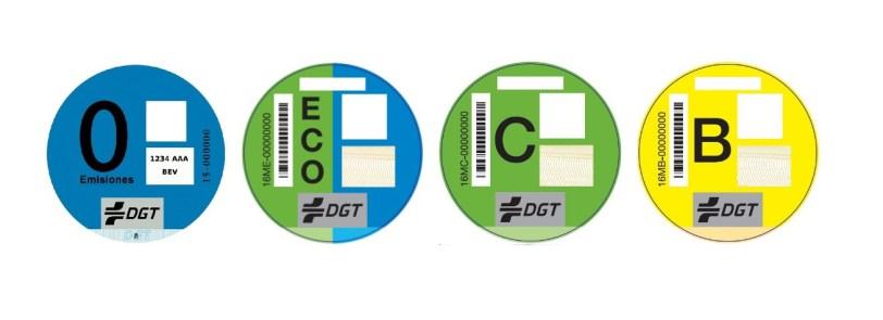 image 1 - Distintivo ambiental obligatorio en Madrid a partir del miércoles 24 de abril