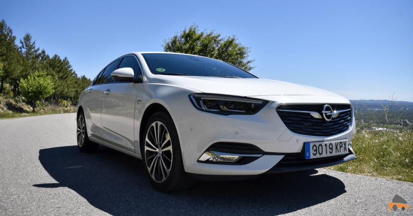 Frontal lateral derecho Opel Insignia Grand Sport - Opel Insignia Grand Sport Innovation 2.0 CDTI 170 CV 2019: Cuenta con nuevas mejoras