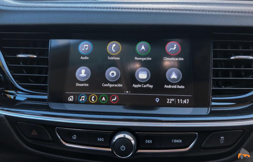 Pantalla multimedia Opel Insignia Grand Sport - Opel Insignia Grand Sport Innovation 2.0 CDTI 170 CV 2019: Cuenta con nuevas mejoras