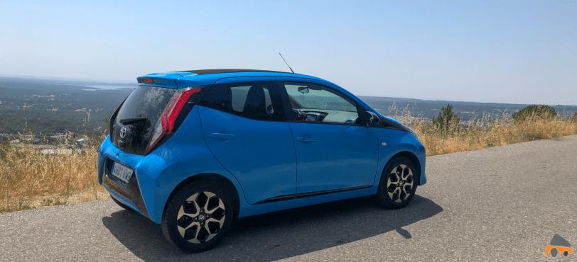 Lateral derecho Toyota Aygo - Toyota Aygo 2019 ¿Es una buena alternativa para la ciudad?