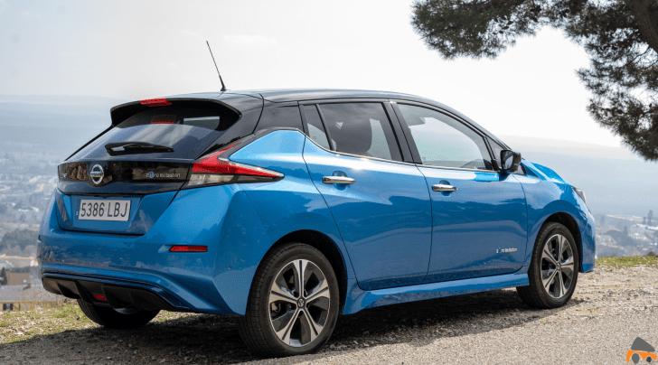 Trasera lateral derecho Nissan Leaf 60 kWh - Nissan Leaf e+: El Leaf con batería de 62 kWh ¿Merece la pena?
