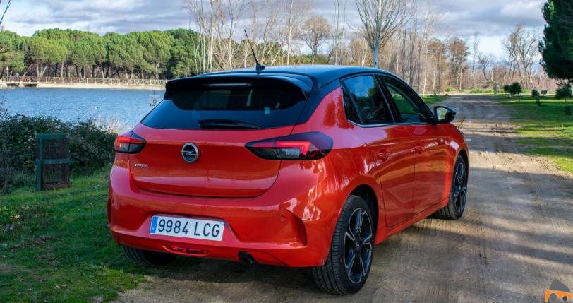 Trasera lateral derecho Opel Corsa Elegance - Opel Corsa 2020 Elegance: La versión tope de gama