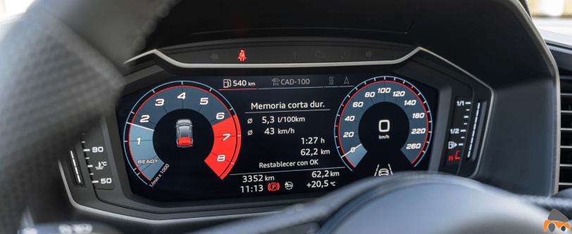 Digital Cockpit Audi A1 Sportback 25 TFSI - Audi A1 Sportback 25 TFSI: Un juguete muy divertido