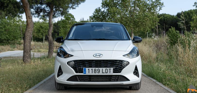 Frontal Hyundai i10 - Hyundai i10 2020: Un coche para la juventud