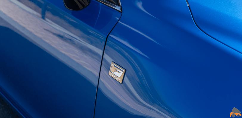 Logo F Sport Lexus CT 200h - Prueba Lexus CT 200h 2019: Un compacto híbrido de lujo