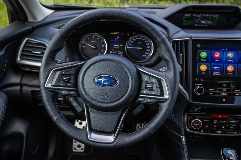 Nuevo Forester ECO HYBRID Interior 47 scaled - Prueba Subaru Forester Eco Hybrid 2020: Todo un auténtico todoterreno