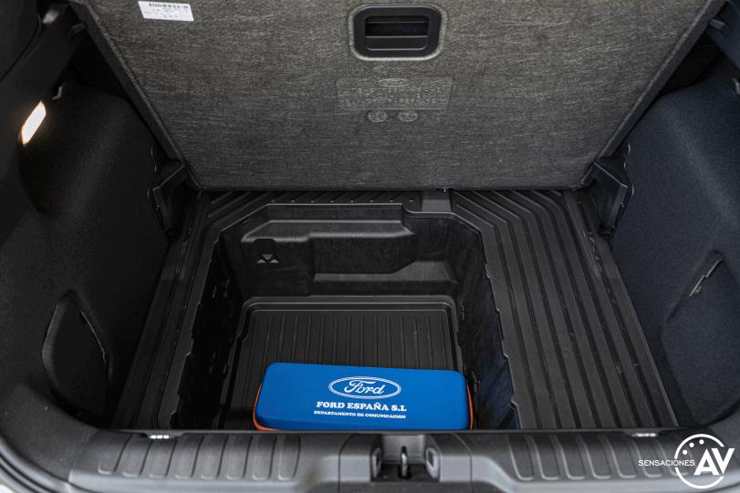 Cajon maletero Ford Puma ST Line 1 0 EcoBoost 125 CV Automatico - Prueba Ford Puma 2020 ST Line: Un SUV urbano llamativo y cómodo