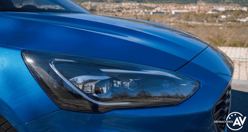 Faro delantero derecho Ford Focus ST Line ECOBOOST Hybrid - Prueba Ford Focus ST Line 2020 1.0 Ecoboost MHEV 155 CV