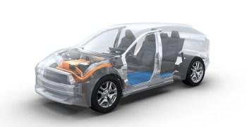 Plataforma BEV Subaru y Toyota - inicio