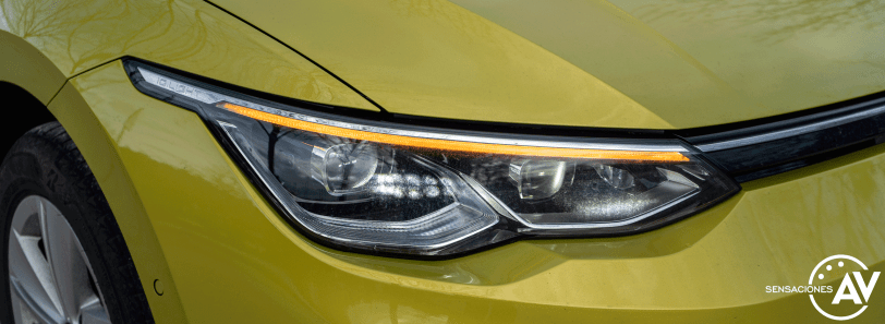 Faro IQ Light Volkswagen Golf 8 - Volkswagen Golf 8 1.5 eTSI 150 CV: ¿El rey con etiqueta ECO?