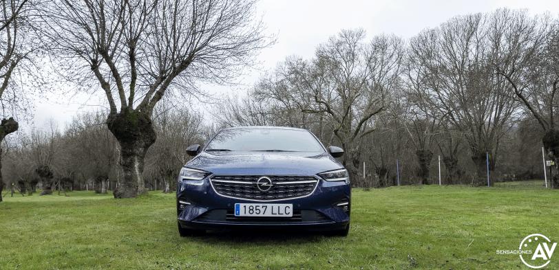 Frontal Opel Insignia 2021 - Prueba Opel Insignia 2021 GS Line 2.0T 200 CV: Listo para dar caña