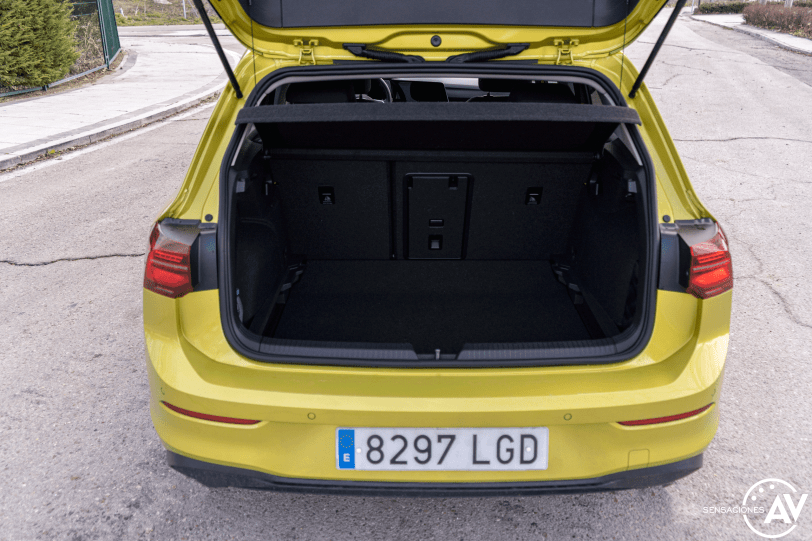 Maletero Volkswagen Golf 8 - Volkswagen Golf 8 1.5 eTSI 150 CV: ¿El rey con etiqueta ECO?