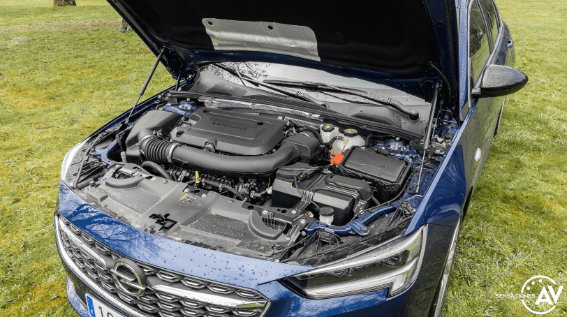 Motor Opel Insignia 2021 - Prueba Opel Insignia 2021 GS Line 2.0T 200 CV: Listo para dar caña