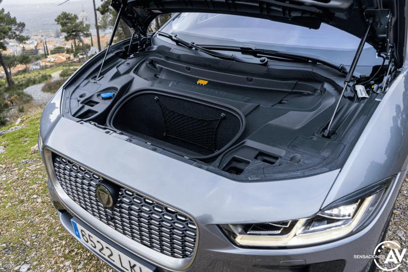 Maletero delantero Jaguar I Pace - Prueba Jaguar I-Pace EV400: Una sonrisa permanente y 370 km de autonomía