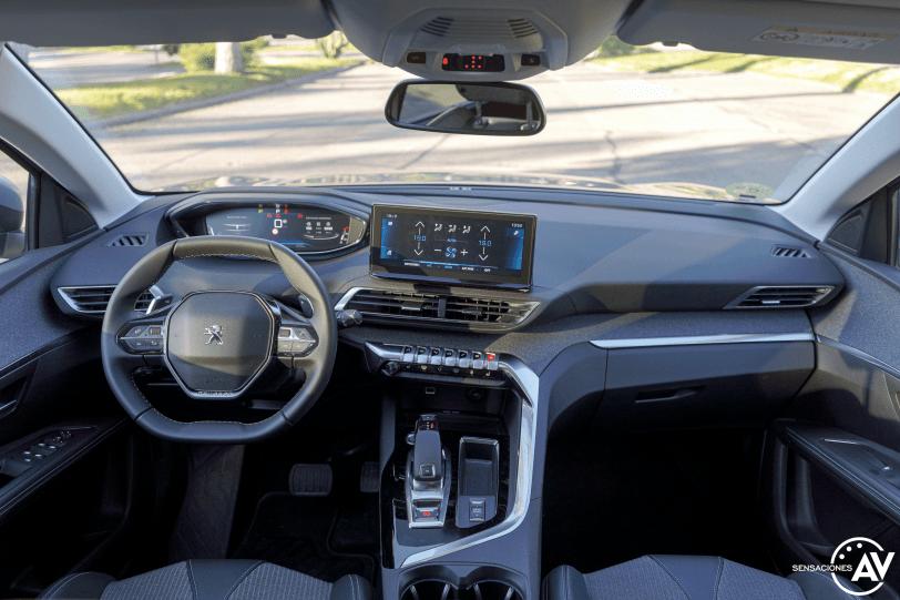Salpicadero vista central Peugeot 5008 2021 - Prueba Peugeot 5008 2021 Allure Pack: Un verdadero monovolumen