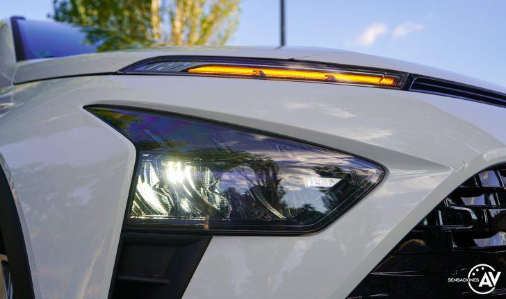 Faro delantero izquierdo Hyundai Bayon e1628249746715 - Prueba Hyundai Bayon 1.0 TGDi 48 V 100 CV AT Tecno: ¿El nuevo rey del segmento B-SUV?
