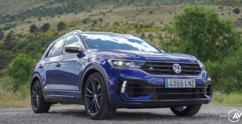 Frontal lateral derecho Volkswagen T Roc R - inicio