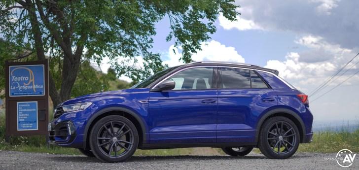 Lateral izquierdo Volkswagen T Roc R - Prueba Volkswagen T-Roc R: 300 CV de pura adrenalina