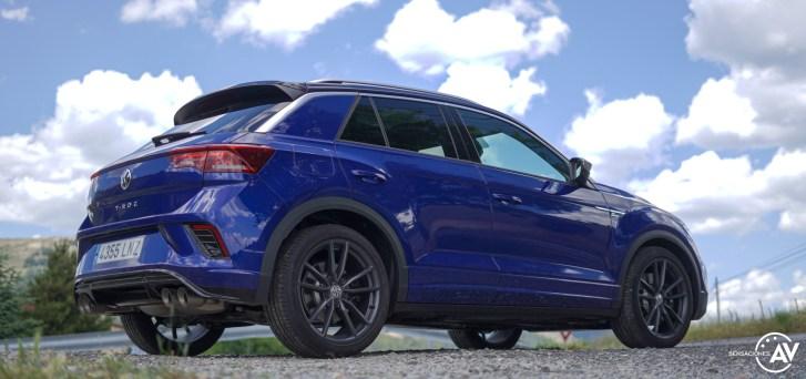 Trasera lateral derecho abajo Volkswagen T Roc R - Prueba Volkswagen T-Roc R: 300 CV de pura adrenalina