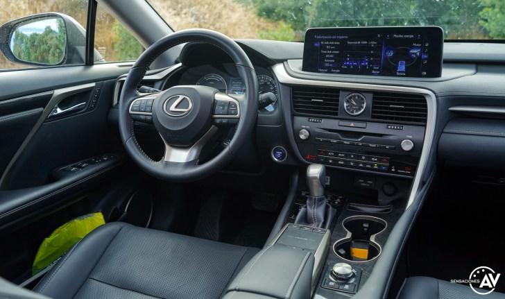 Puesto de conduccion Lexus RXL - Prueba Lexus RX 450hL Executive 2021: ¿El SUV de lujo más cómodo con 7 plazas?