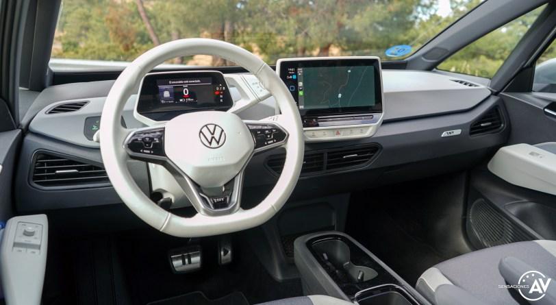Salpicadero vista trasera izquierda Volkswagen ID3 - Prueba Volkswagen ID.3 Pro 2021: Una nueva era eléctrica
