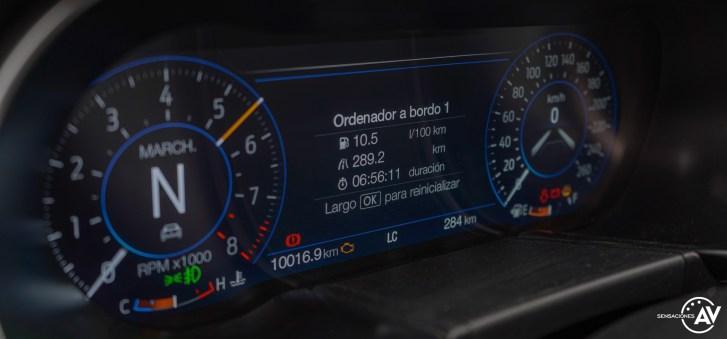 Tacometro 1 Ford Mustang - Prueba Ford Mustang GT Fastback 2021: Puro músculo. ¡Que Dios bendiga a América!