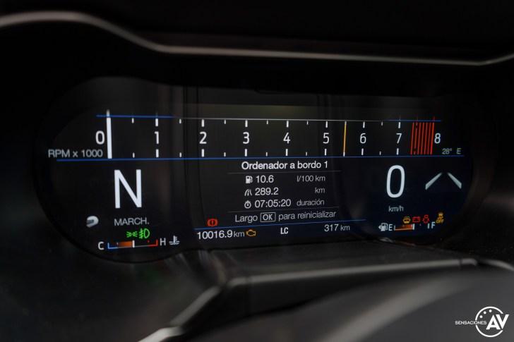 Tacometro 3 Ford Mustang - Prueba Ford Mustang GT Fastback 2021: Puro músculo. ¡Que Dios bendiga a América!