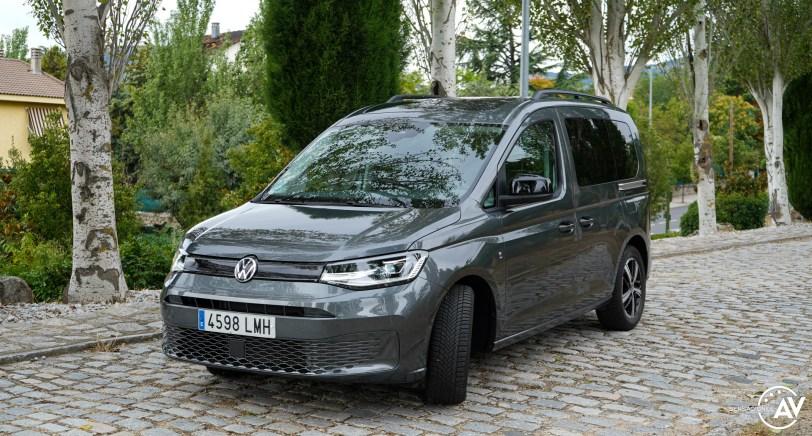 Frontal lateral izquierdo Volkswagen Caddy Outdoor - Prueba del nuevo Volkswagen Caddy Outdoor 2021: Un auténtico referente