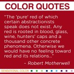 Quotes About Red Sensational Color