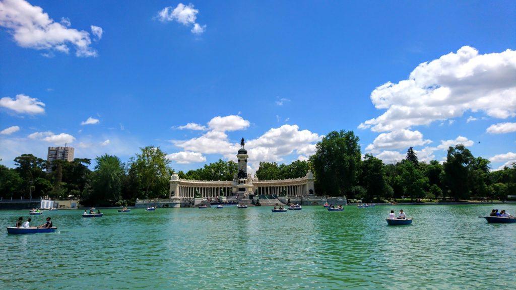 Parc el retiro a Madrid