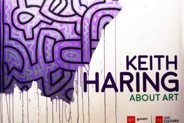 "keith haring palazzo reale milano ""About art"""