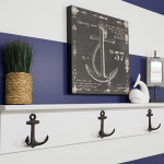 Guest Friendly Boy's Nautical Bathroom