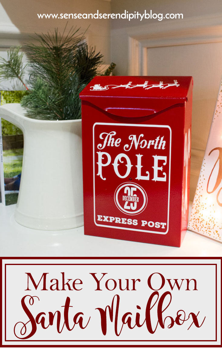 Make Your Own Santa Mailbox