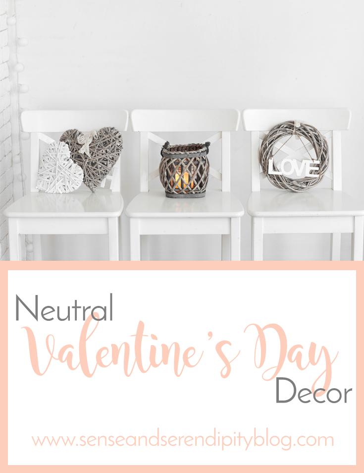 Neutral Valentine's Decor