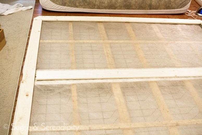 DIY Upholstered Platform Bed | Sense & Serendipity