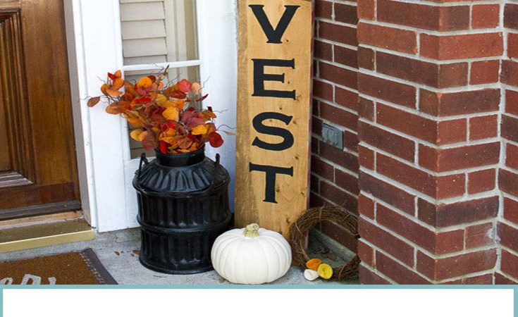 Double Sided Holiday Porch Sign