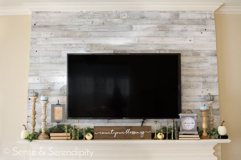 Quick & Easy Reclaimed Wood Feature Wall   Sense & Serendipity