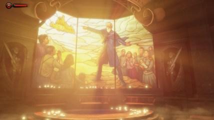 Der Prophet im Welcome Center - Bioshock Infinite Screenshots