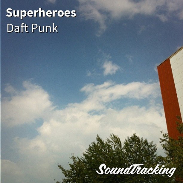 ":) ♫ ""Superheroes"" by Daft Punk   via #soundtracking app - via Instagram"