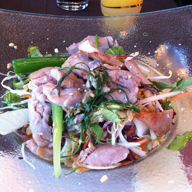 Goi Mien Ca Thu (irgendwas mit Thunfisch) - war lecker - via Instagram