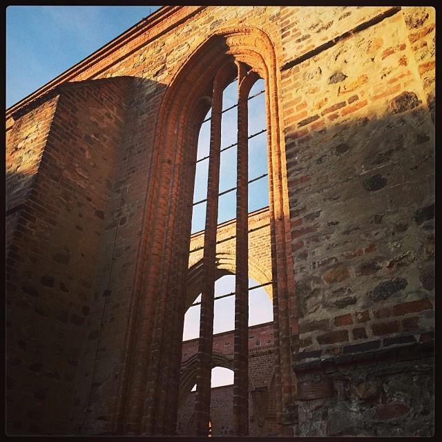 Zerbst, eine Stadt reich an spannenden Ruinen... - via Instagram