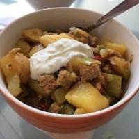 Kartoffel-Hack-Auflauf, auch lecker... :-) #foodporn - via Instagram