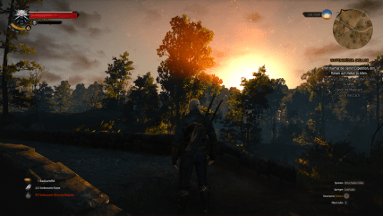 witcher3 sunset 2