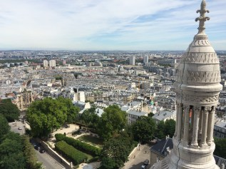 Auf dem Dach von Sacré Coeur