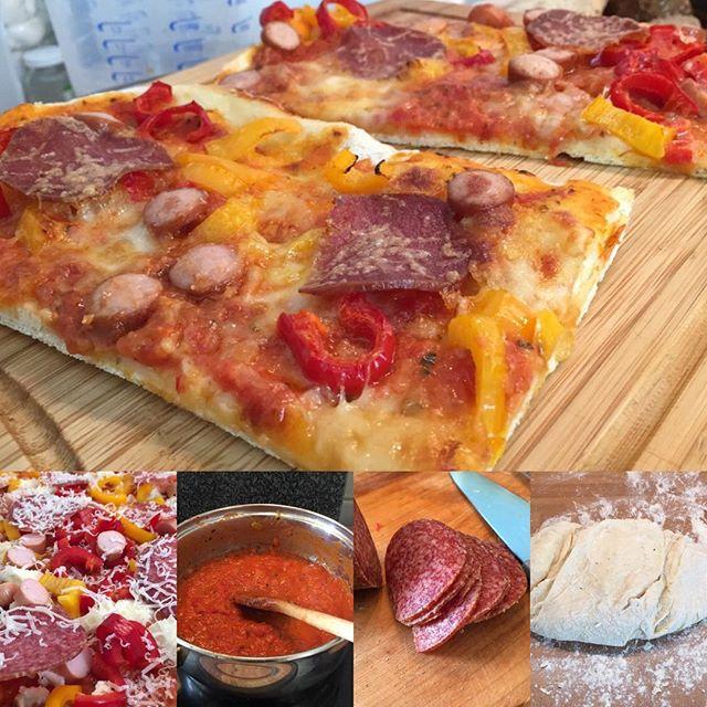 Lecker Pizza gebastelt! <a rel=