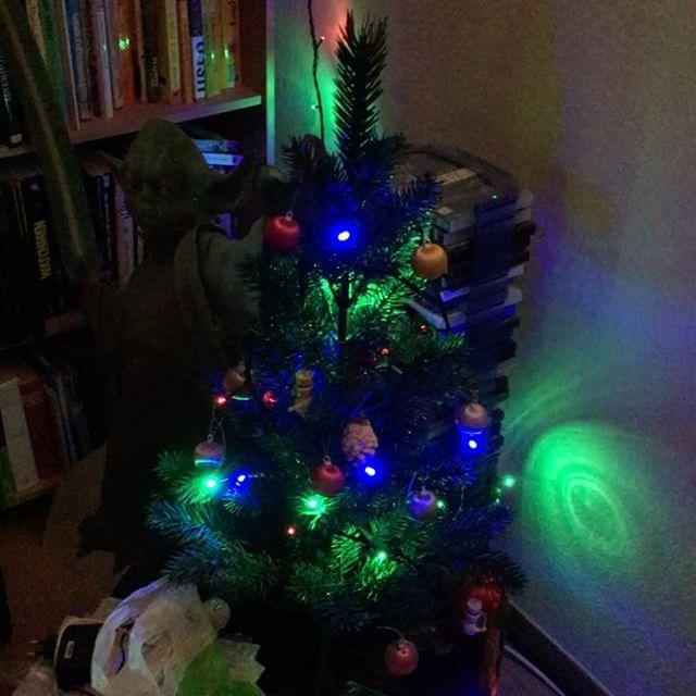 Christmas lights  🙂 - via Instagram